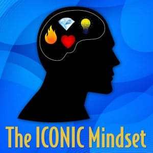 The Iconic Mindset Podcast Logo